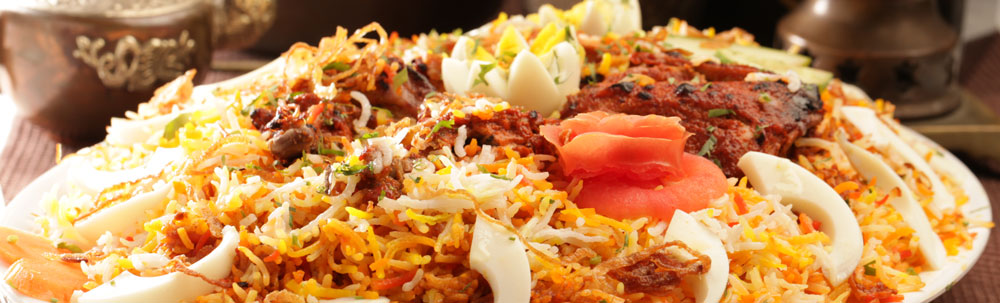 The Murgh Dum Biryani from Sigdi - fit for a king, delicious.